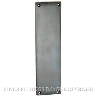 TRADCO 1287 FINGER PLATE 240 X 60MM ANTIQUE COPPER