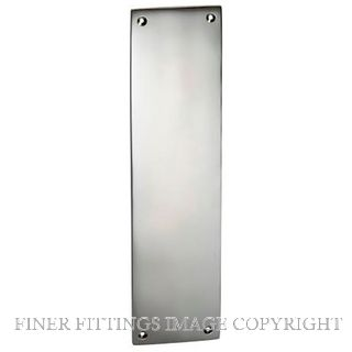 TRADCO 1288 FINGER PLATE 240 X 60MM CHROME PLATE