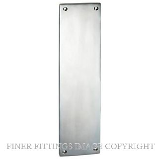 TRADCO 1289 FINGER PLATE 240 X 60MM SATIN CHROME