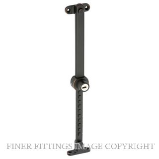TRADCO 1675 TELESCOPIC STAY KEY LOCKED AC-STAINLESS