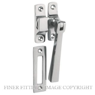 TRADCO 1692 CASEMENT FASTENER SQUARE CHROME PLATE