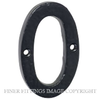 TRADCO TR1890-TR1899 75MM NUMERALS 0-9 MATT BLACK
