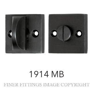 TRADCO 1914 SQUARE PRIVACY TURNS MATT BLACK