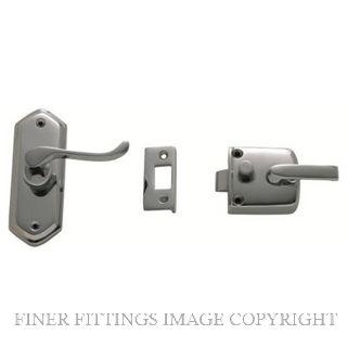 TRADCO 2063 SCREEN DOOR LATCH R/H EXTERNAL CHROME PLATE