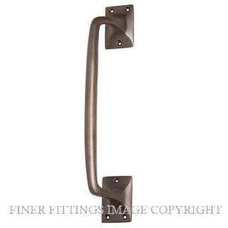 TRADCO 2288 PULL HANDLE 305MM ANTIQUE BRASS