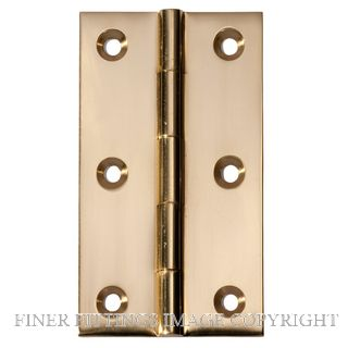 TRADCO TR2470-TR2474 FIXED PIN BRASS POLISHED BRASS