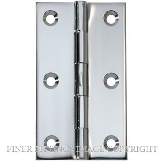 TRADCO TR2670-TR2674 FIXED PIN BRASS CHROME PLATE