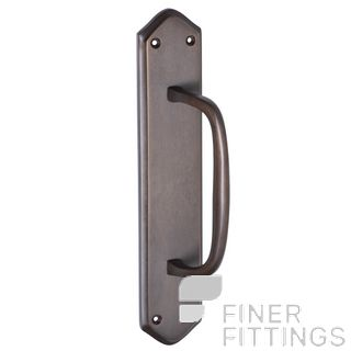 TRADCO 2362 PULL HANDLE 250X50MM ANTIQUE BRASS