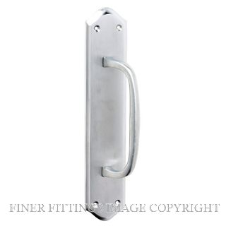 TRADCO 2931 PULL HANDLE 250 X 50MM SATIN CHROME