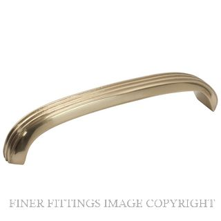 TRADCO 3444 - 3447 CABINET HANDLES POLISHED BRASS