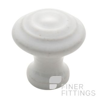 TRADCO 3474 - 3476 PORCELAIN CABINET KNOBS WHITE