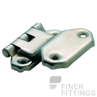 TRADCO OFFSET HINGE FOLD OVER SI 45 X 42MM SATIN NICKEL