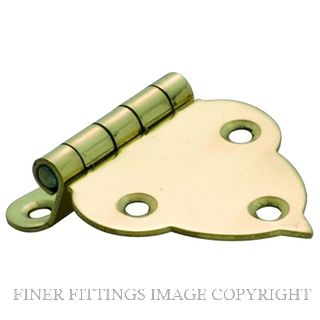 TRADCO OFFSET HINGE SB 45 X 40MM POLISHED BRASS