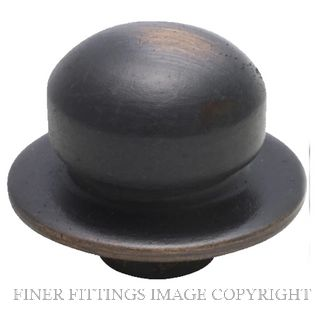 TRADCO 5404 DIMMER KNOB ANTIQUE COPPER
