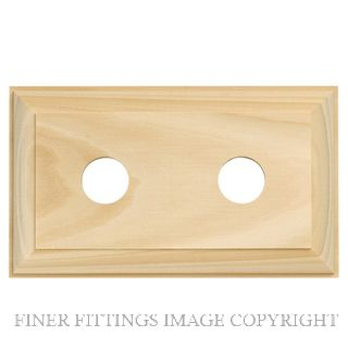 TRADCO 5442 DOUBLE BLOCK TRADITIONAL 155 X 90MM PINE