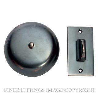 TRADCO 5516 TURN BELL ANTIQUE COPPER