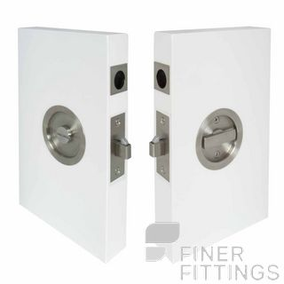 WINDSOR WI5327 CAVITY-SUITE PRIVACY KIT ROUND STAINLESS
