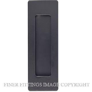 WINDSOR 5317 - 5319 BLK SINGLE FLUSH PULLS MATT BLACK