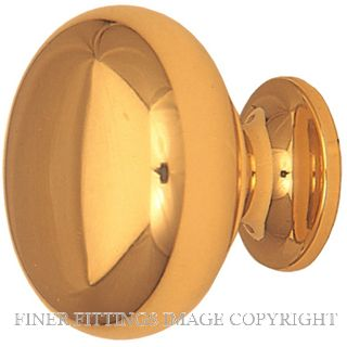 WINDSOR BRASS 6204 - 6213 MUSHROOM CABINET KNOBS