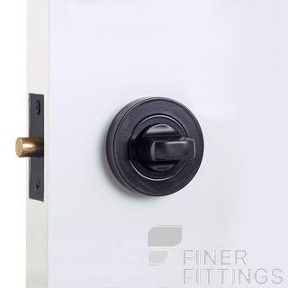 WINDSOR 9034 BLK PRIVACY TURN SET 60MM BOLT MATT BLACK