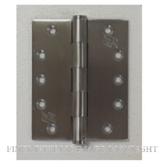 MORGAN & AICKIN 125MM HIGH HINGES SATIN STAINLESS