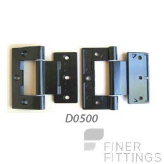 FFHD0500 HINGE - APL 90MM BLACK
