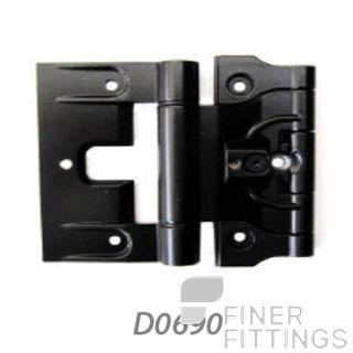 FFHD0690 HINGE - APL ADJUSTABLE TIMBER DOOR HINGE BLACK