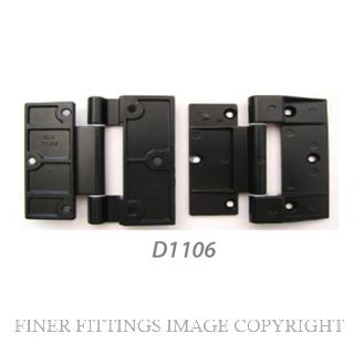 FFHD1106 HINGE - VISTALITE/NEBULITE 90MM BLACK