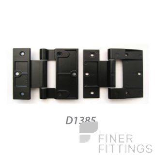 FFHD1385 HINGE - FAIRVIEW 90MM ALU & TIM DOOR BLACK