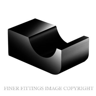 NR 6082 ROBE HOOK MATT BLACK