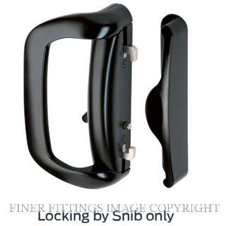 SCHLAGE STELLA SSD12201 SNIB LOCKSET MAT BLACK