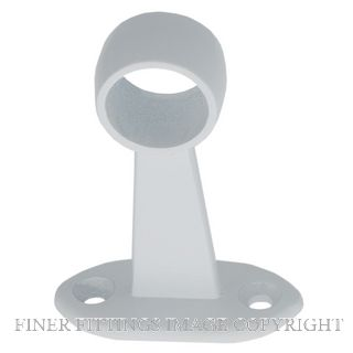 MILES NELSON 024 TOWEL BRACKET CENTRE 19MM WHITE