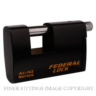 FEDERAL FDAU731 HEAVY DUTY RECTANGLE PADLOCK