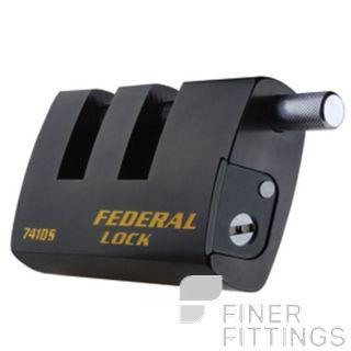 FEDERAL FDAU741DS HEAVY DUTY RECTANGLE PADLOCK