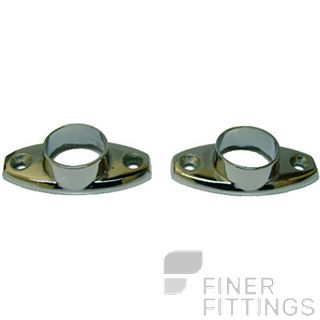 MILES NELSON MN029 19MM TOWEL RAIL FLANGES