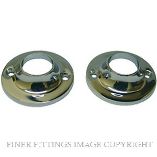 MILES NELSON MN030 19MM TOWEL RAIL FLANGES