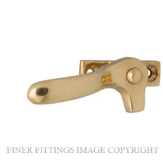 MILES NELSON 236 SPLIT RAIL FASTENER POLISHED BRASS