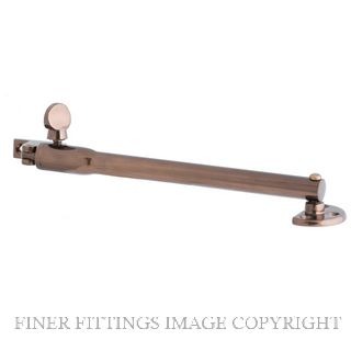 MILES NELSON 246 TELESCOPIC STAY 245MM FLORENTINE BRONZE