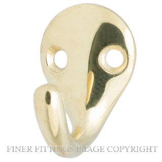 MILES NELSON WARDROBE HOOK 103 GOLD