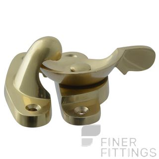 MILES NELSON 4217 SASH FITCH FASTERNER POLISHED BRASS