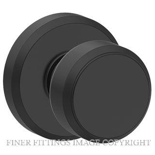SCHLAGE GREYSTONE-BOWERY MATT BLACK