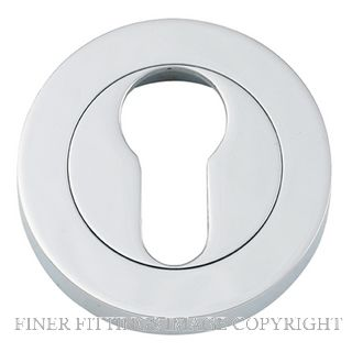 TRADCO 9304 EURO ESCUTCHEON 52MM CHROME PLATE