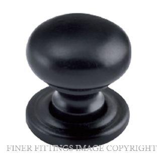 TRADCO 9562 - 9565 CABINET KNOBS MATT BLACK