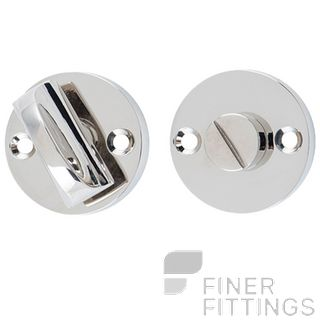 TRADCO 6471 PRIVACY TURN - ROUND POLISHED NICKEL 35MM
