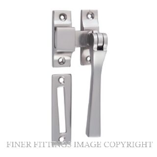 TRADCO 6584 CASEMENT FASTENER - SQUARE SATIN NICKEL