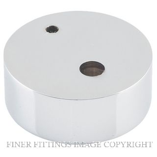 TRADCO 9847 SPACER TO SUIT DOOR STOP OVAL CHROME PLATE