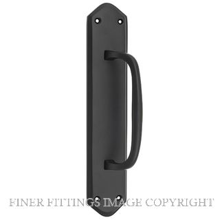 TRADCO 9673 PULL HANDLE MATT BLACK