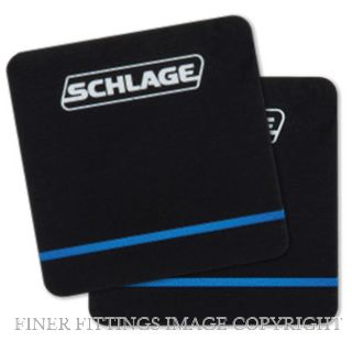 SCS6000 S-MOBILE SCHLAGE S SERIES ADHESIVE MOBILE PATCH BLACK