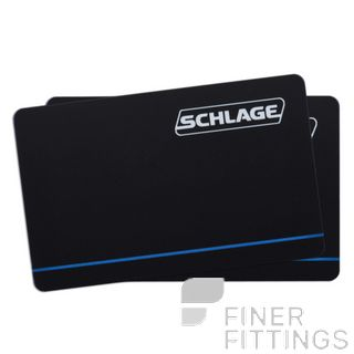 SCS6000 S-CARD SCHLAGE S SERIES ISO CARD BLACK