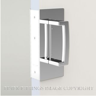 CL406 PASSAGE SET SINGLE DOOR NON MAGNETIC 46-52MM DOORS